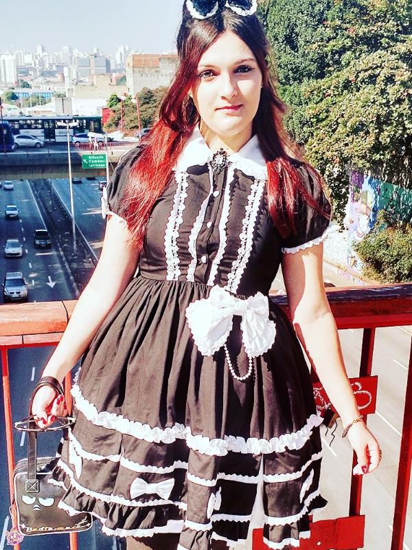 Aika Arata's 「Lolita fashion」themed photo (2017/08/12)