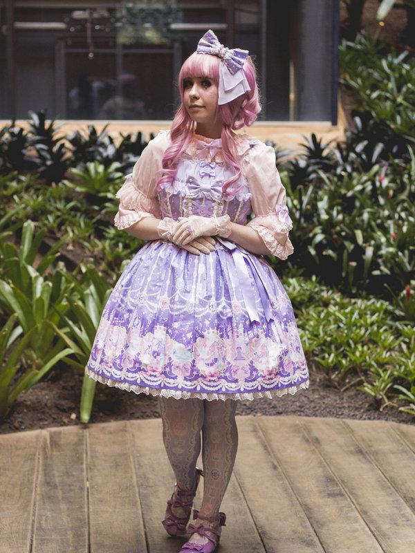 Princess Vの「Hime Lolita」をテーマにしたコーディネート(2017/08/13)