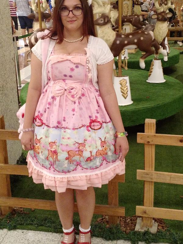 Aika Arata's 「Sweet lolita」themed photo (2017/08/16)