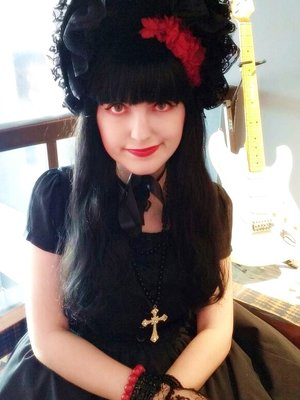 Maria Eduarda Calegari's 「Gothic Lolita」themed photo (2017/08/16)
