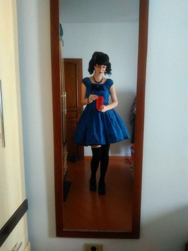 Annah Helの「Handmade Lolita」をテーマにしたコーディネート(2017/08/16)