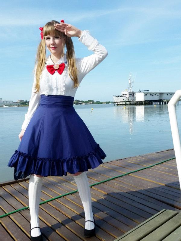 Ichigo Fujiwara's 「Sailor Moon」themed photo (2017/08/17)