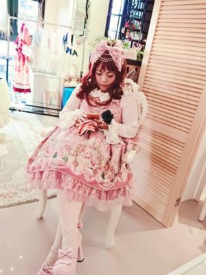 喵小霧の「rose museum」をテーマにしたコーディネート(2017/08/21)