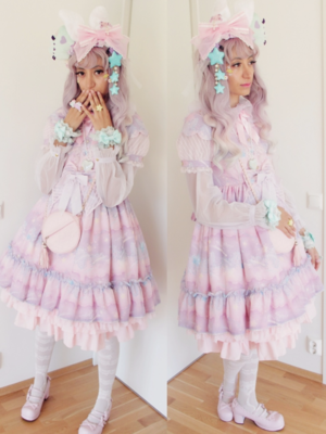Fortune Tea Lady's 「Angelic pretty」themed photo (2017/08/21)