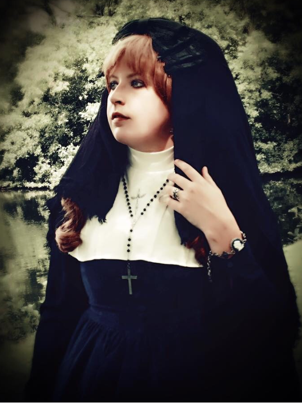 Anna Maria's 「Gothic Lolita」themed photo (2017/08/24)
