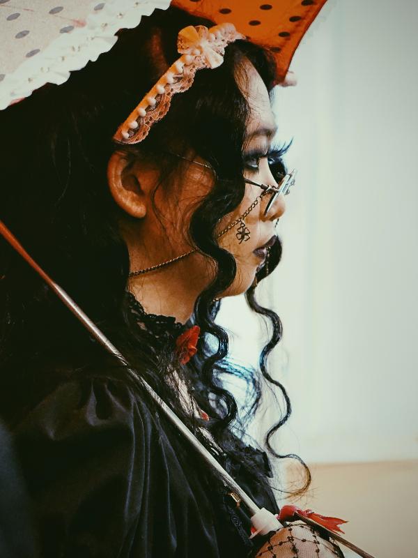 是Qiqi以「Gothic Lolita」为主题投稿的照片(2017/08/29)