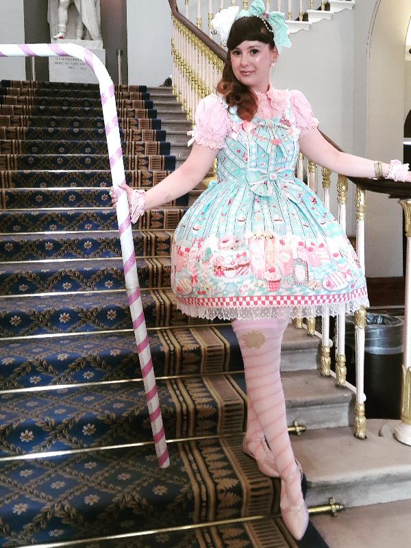 Cupcake Kamisama's 「Angelic pretty」themed photo (2017/08/29)