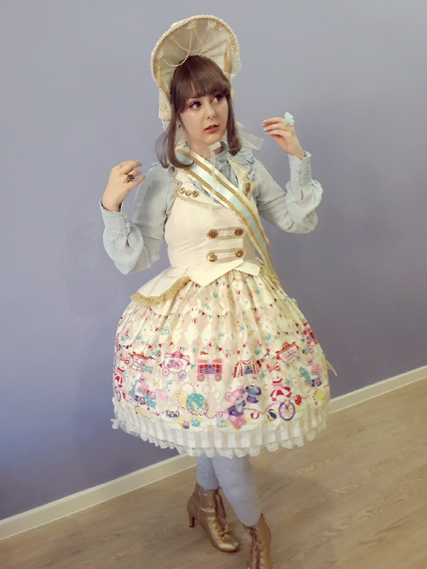 Cupcake Kamisama's 「Angelic pretty」themed photo (2017/08/29)