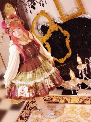 喵小霧の「Angelic pretty」をテーマにしたコーディネート(2017/08/29)