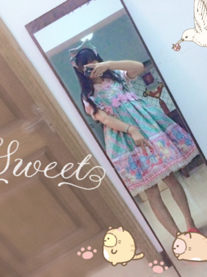 WeeJay_V_みく♡'s 「Angelic pretty」themed photo (2017/09/01)