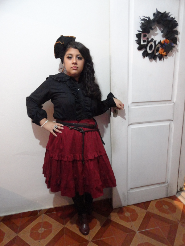 Raissa Jiménez's 「Brazilian Lolita」themed photo (2017/09/04)