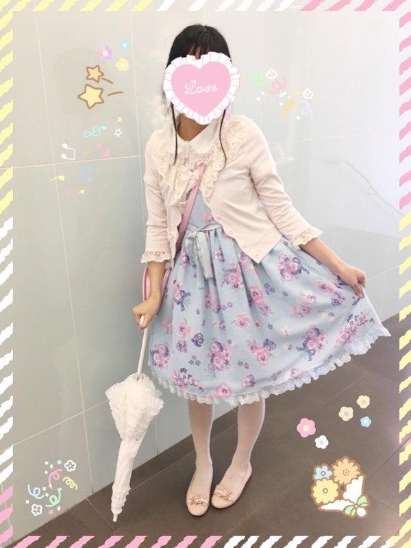 Kuroeko's 「Angelic pretty」themed photo (2016/07/26)