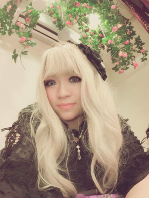 喵小霧の「Gothic Lolita」をテーマにしたコーディネート(2017/09/10)