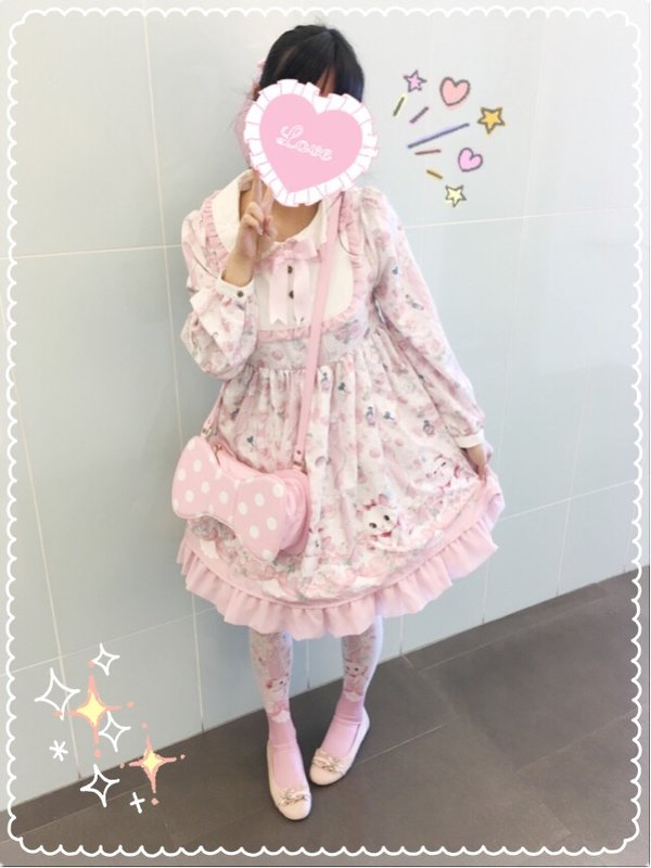 Kuroeko's 「Angelic pretty」themed photo (2016/07/27)
