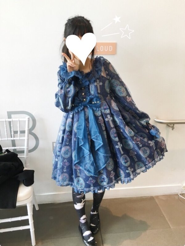 Kuroekoの「Angelic pretty」をテーマにしたコーディネート(2016/07/28)