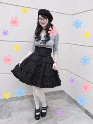 Annah Hel's 「Casual Lolita」themed photo (2017/09/18)