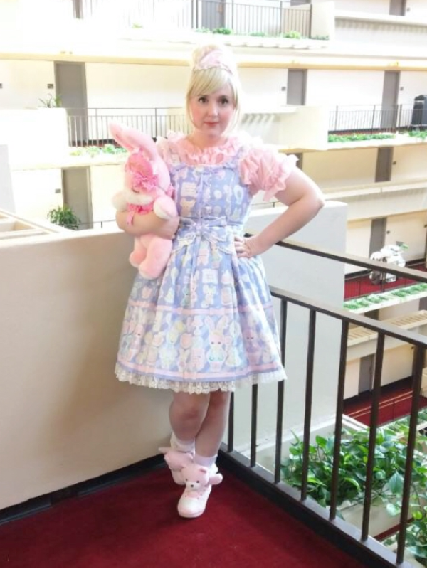 Lulu Couture の「Angelic pretty」をテーマにしたコーディネート(2017/09/19)