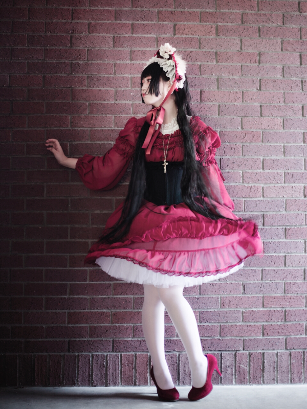 uohininoborite's 「#lolita fashion」themed photo (2017/09/21)