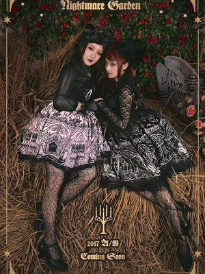Nightmare Official's 「Gothic Lolita」themed photo (2017/09/26)
