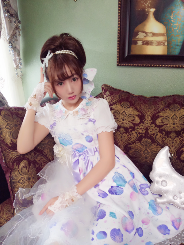 Kana葉の「Angelic pretty」をテーマにしたコーディネート(2017/09/27)