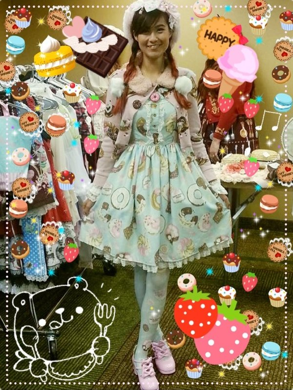 是TheRabbitPrincess以「Angelic pretty」为主题投稿的照片(2016/08/02)