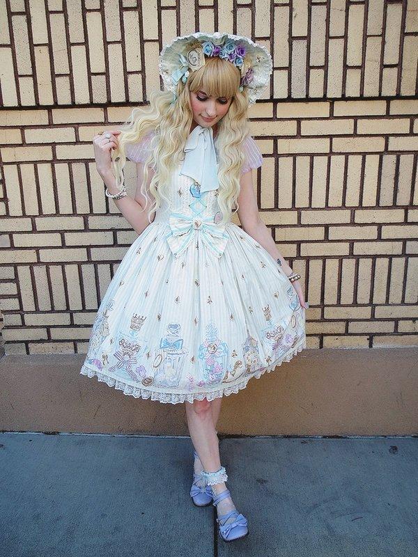 mintkismetの「Angelic pretty」をテーマにしたコーディネート(2016/08/04)