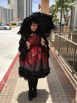 是Momona以「Gothic Lolita」为主题投稿的照片(2016/08/05)