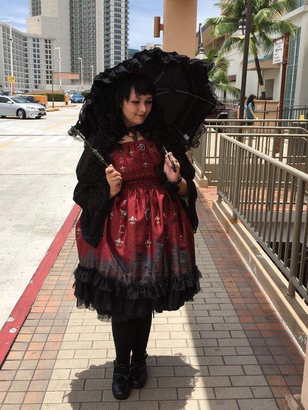 Momonaの「Gothic Lolita」をテーマにしたコーディネート(2016/08/05)