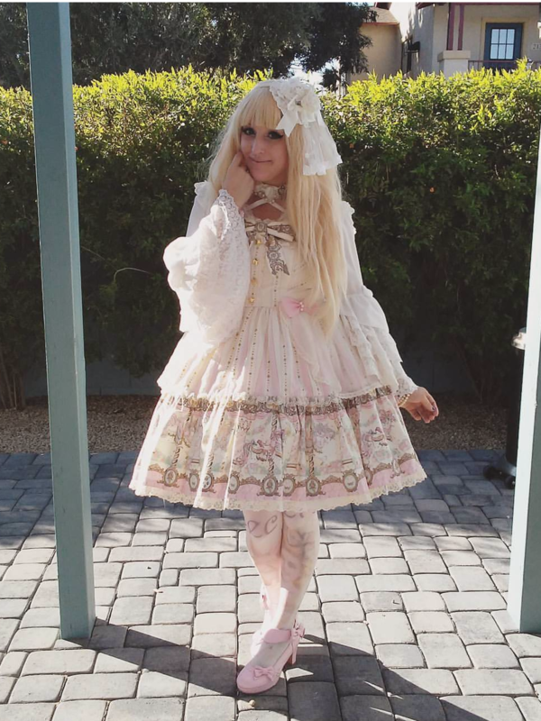 Candice's 「Angelic pretty」themed photo (2017/10/03)