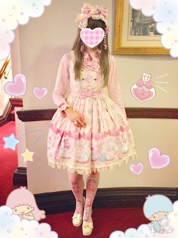 Aliceの「Angelic pretty」をテーマにしたコーディネート(2017/10/05)