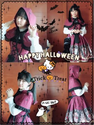 shiina_mafuyu's 「halloween-coordinate-contest-2017」themed photo (2017/10/05)