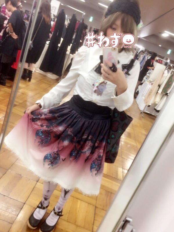 杏珠の「Gothic」をテーマにしたコーディネート(2017/10/05)