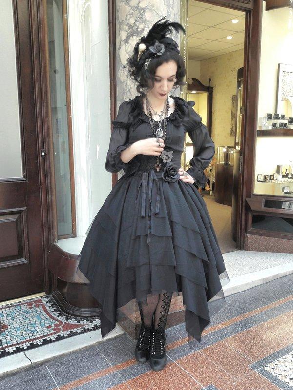 Joの「Gothic Lolita」をテーマにしたコーディネート(2017/10/06)