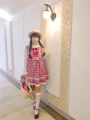 舞の「Sweet lolita」をテーマにしたコーディネート(2017/10/07)