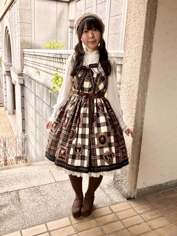 Tomomi's 「Angelic pretty」themed photo (2017/10/07)