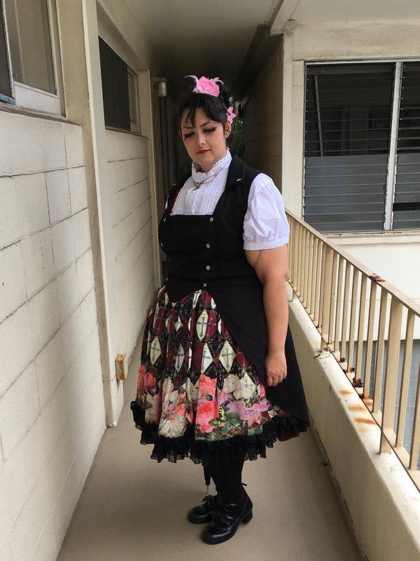 Momonaの「Gothic Lolita」をテーマにしたコーディネート(2016/08/07)