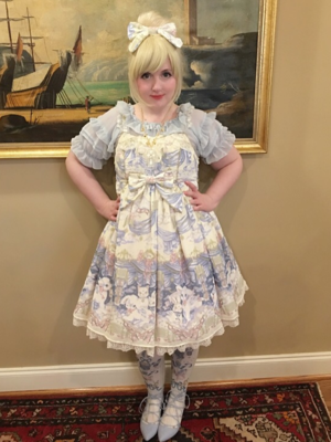 Lulu Couture 's 「Angelic pretty」themed photo (2017/10/08)