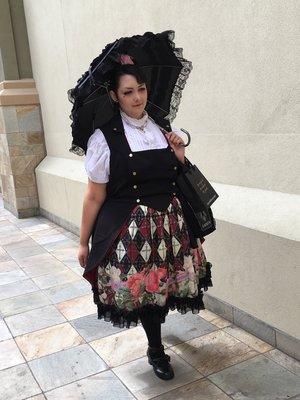 是Momona以「Gothic Lolita」为主题投稿的照片(2016/08/08)