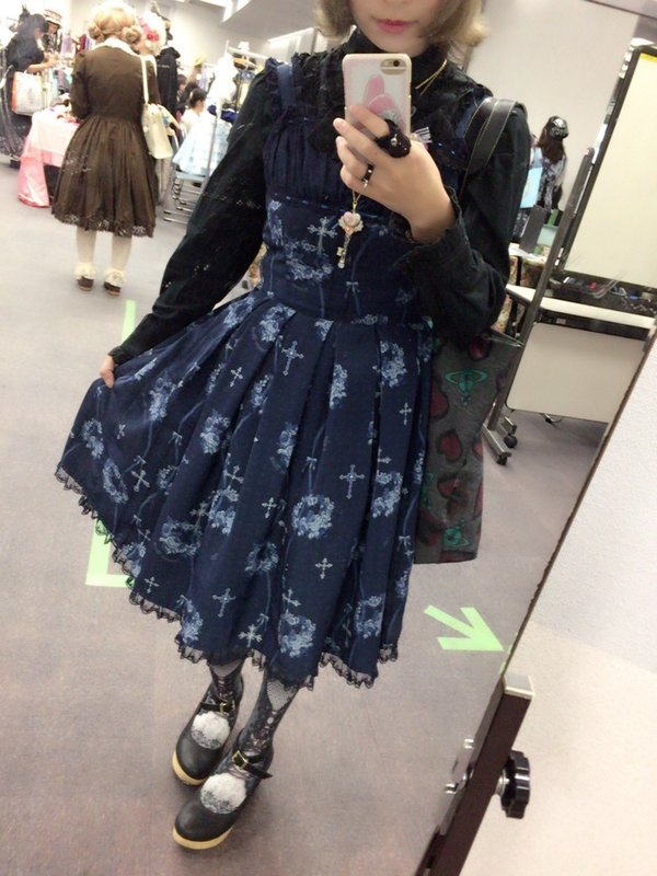 杏珠の「Gothic Lolita」をテーマにしたコーディネート(2017/10/14)