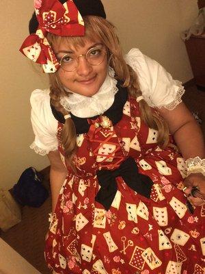 是SweetyChanelly以「Classic Lolita」为主题投稿的照片(2016/08/10)