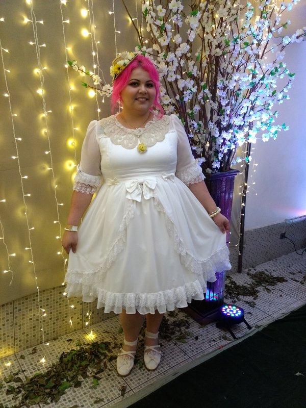 Pires Danieleの「Lolita fashion」をテーマにしたコーディネート(2017/10/16)