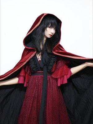 无知少女马花花の「red-is-my-color」をテーマにしたコーディネート(2017/10/17)