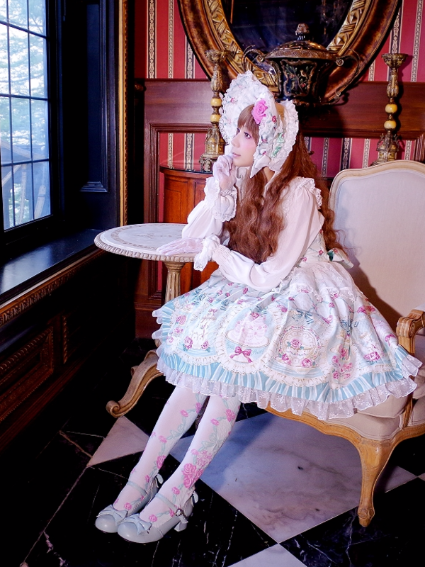 置鮎楓の「Angelic pretty」をテーマにしたコーディネート(2017/10/20)