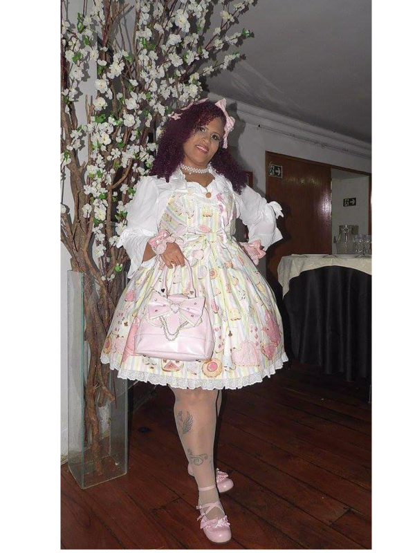 Glauce Martins's 「Angelic pretty」themed photo (2017/10/23)