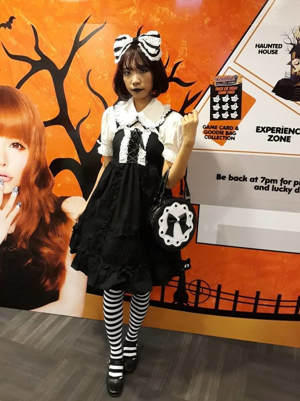 Xiao Yu's 「halloween-coordinate-contest-2017」themed photo (2017/10/23)