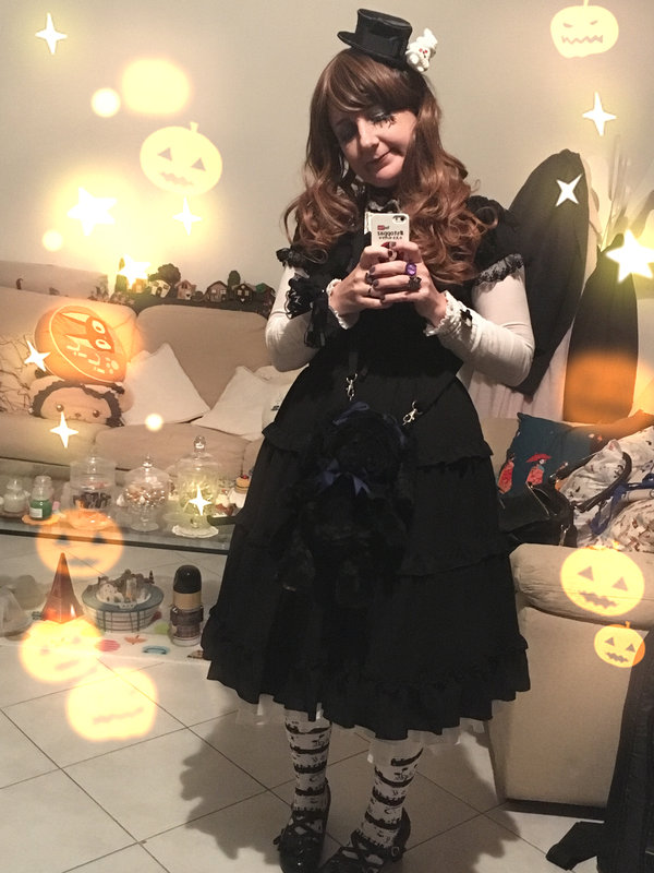 Fantasmiki's 「halloween-coordinate-contest-2017」themed photo (2017/10/26)