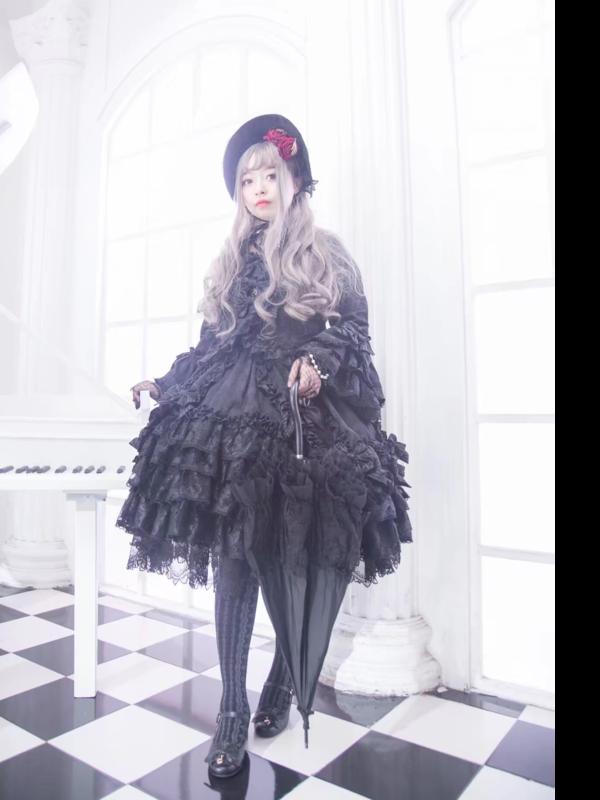_咲夜十六夜の「Angelic pretty」をテーマにしたコーディネート(2017/10/27)