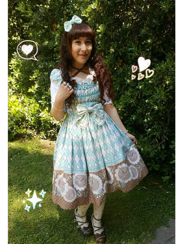 Ahiri's 「Lolita fashion」themed photo (2017/10/29)