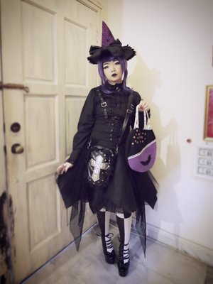 Qiqiの「halloween-coordinate-contest-2017」をテーマにしたコーディネート(2017/10/30)