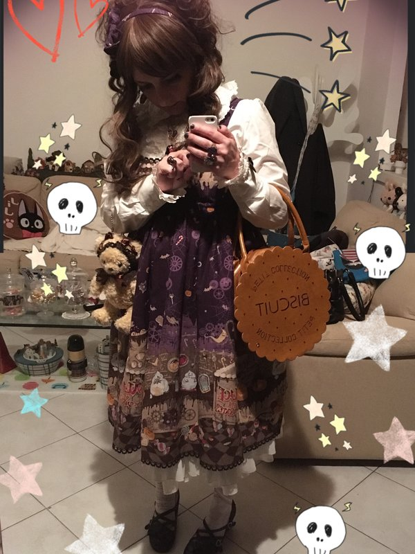 Fantasmikiの「halloween-coordinate-contest-2017」をテーマにしたコーディネート(2017/10/30)
